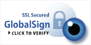 SSL Secured GloablSign CLICK TO VERIFY